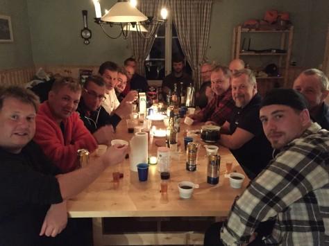 Onsdagen första jaktveckan är det fest i Västanbäck.